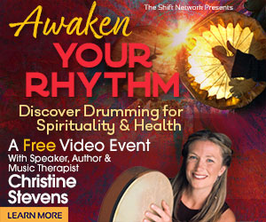 Music Therapist Christine Stevens will help you discover how drumming can liberate your inner rhythm and revitalize your holistic health, spirituality, and wellness, during a FREE virtual event, Awaken Your Rhythm: Discover Drumming for Spirituality & Health