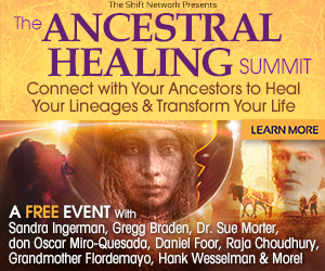 Ancestral Healing Summit — a global gathering of leading ancestral healing experts and inspiring teachers who will be sharing a powerful synthesis of spirituality and shamanism, science and psychology, and ancient wisdom from around the world that will transform your life and your lineages
