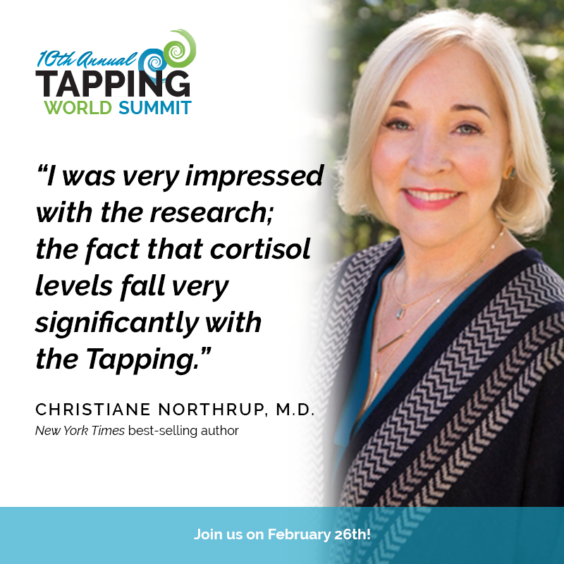 Watch Dr. Christiane Northrup explains how beliefs and buried emotions lead to disease - and how EFT Tapping can help