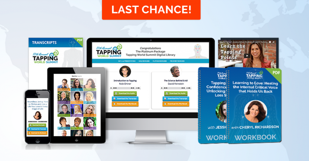 last chance for EFT tapping summit recordings access for less