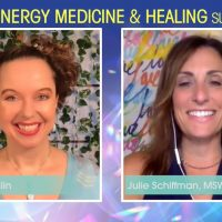 Julie Schiffman, MSW, about how tapping EFT can help to calm your nervous system in minutes