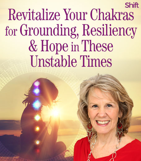 Join here to Revitalize Your Chakras for Grounding, Resiliency & Hope in These Unstable Times with Anodea Judith, author of the #1 bestselling book on chakras, Wheels of Life & discover practices for working with your chakras and optimizing your energy system — the foundation of your emotional, psychological, and spiritual wellbeing.