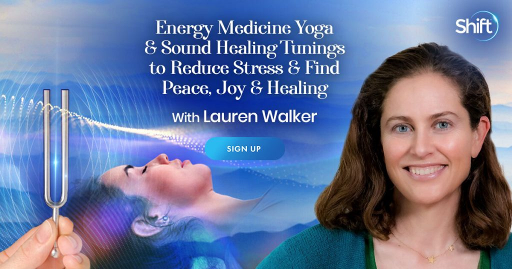EMYoga — which combines energy medicine with a traditional yoga practice