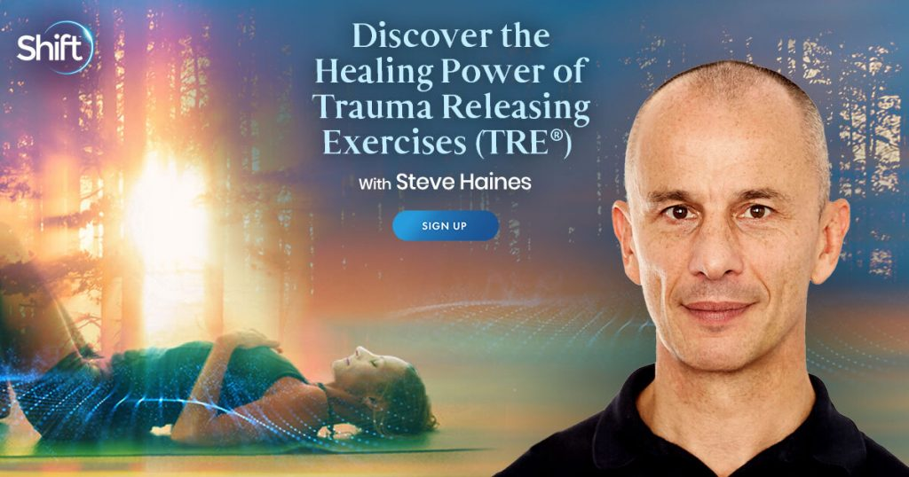 learn simple exercises to help you shift out of emotional-based fear, trauma & pain